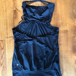 Lululemon dress size 10 strapless tunic/ dress